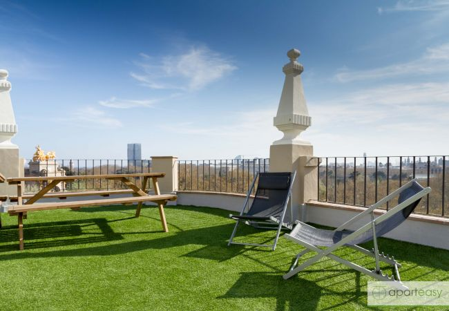 Apartment in Barcelona - CIUTADELLA PARK, 4 double bedrooms, green park