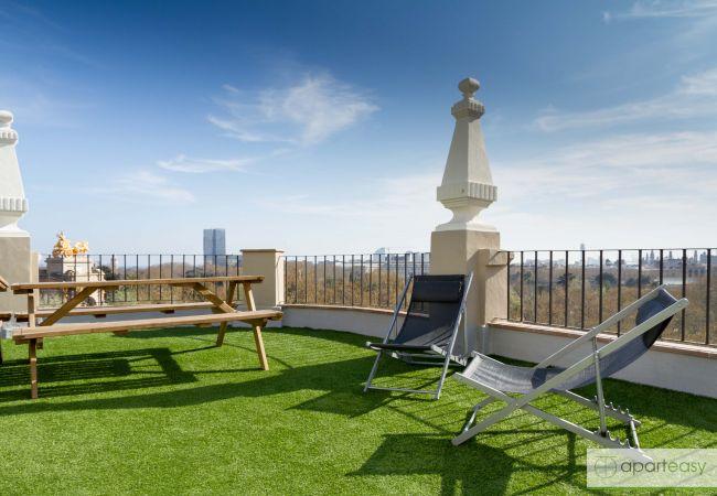 Apartamento en Barcelona - CIUTADELLA PARK, 4 double bedrooms, green park