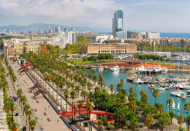 Appartement à Barcelone - ATIC CIUTADELLA PARK, 2 double bedrooms
